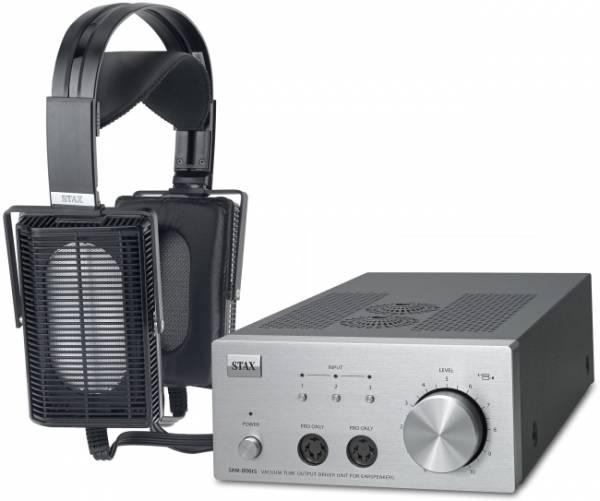 STAX SET SRS-5106Pro mit Kopfhörer SR-L500 Pro u. Treiberverstärker SRM-006tS