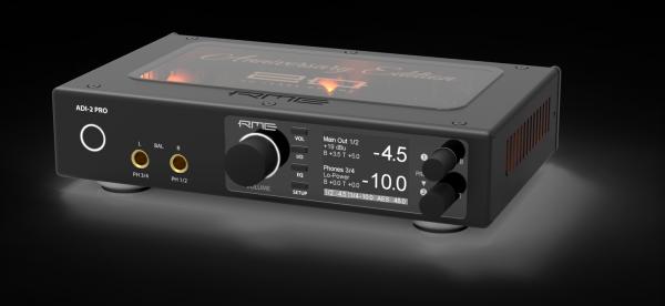 RME KHV ADI-2 Pro - Limited Edition in schwarz mit transparentem Deckel