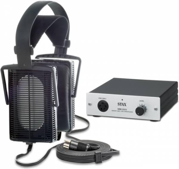 STAX SET SRS-3100 mit Kopfhörer SR-L300 u. Treiberverstärker SRM-252S