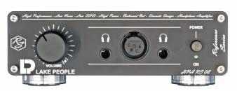 Lake People 2-kanaliger Kopfhörerverstärker HPA RS 08 mit symmetrischem Kopfhörerausgang