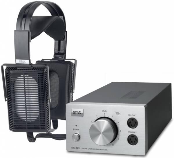 STAX SET SRS-5103 Pro mit Kopfhörer SR-L500 Pro u. Treiberverstärker SRM-323S