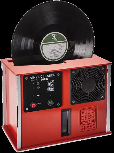 Gläss Vinyl Cleaner Pro rot