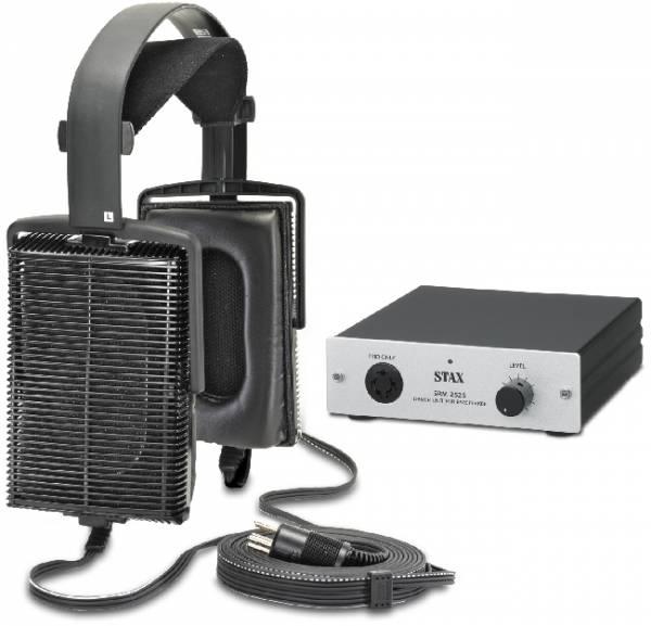 STAX SET mit Kopfhörer SR-207 u. Treiberverstärker SRM-252S