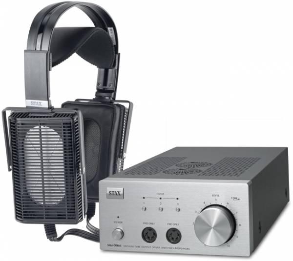 STAX SET SRS-7106Pro mit Kopfhörer SR-L700 Pro u. Treiberverstärker SRM-006tS