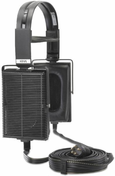 STAX SET mit Kopfhörer SR-507 und Treiberverstärker SRM-006tS