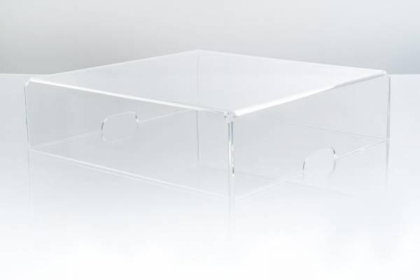 Abdeckhaube Acryl für LEVAR TWIN/UNICA Plattenwaschmaschine
