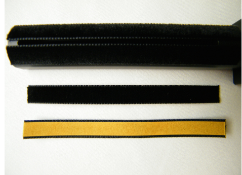 Nessie/HANNL Ersatzsamtstreifen - 1 Paar