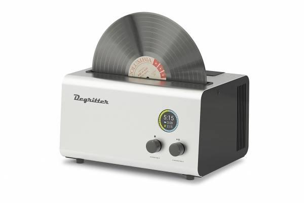 """Degritter Ultraschall-Plattenwaschmaschine - Package inkl. 7""""- und 10""""-Adapter"""