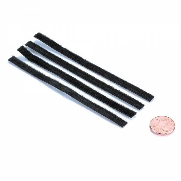 Ersatzmikrofaserstreifen für LEVAR TWIN Plattenwaschmaschine 4-er Set