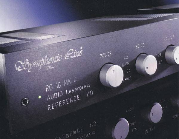 Symphonic Line RG10 MK5 Reference HD Master mit Netzteil