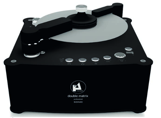 Clearaudio Double Matrix Professional Sonic Plattenwaschmaschine Bundle inkl. Haube & 2 Reiniger