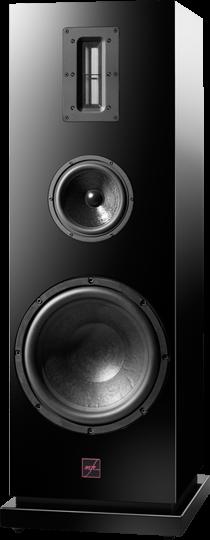 mfe Lautsprecher Secundo (Vorführgerät) 3-Weg Bassreflex-System mit Bändchenhochtöner