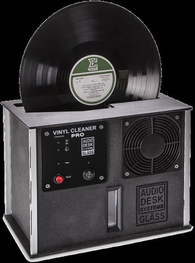 Gläss Vinyl Cleaner Pro schwarz - Makelloser Rückläufer