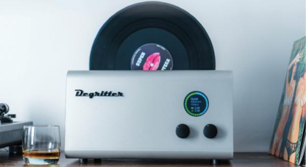 """DEGRITTER Referenz-Ultraschall-Plattenwaschmaschine - Inkl. 7""""- und 10""""- Adapter"""
