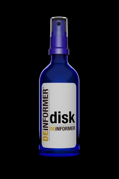 DEiNFORMER Disc - Reinigungsspray für CD, DVD, Blu-ray