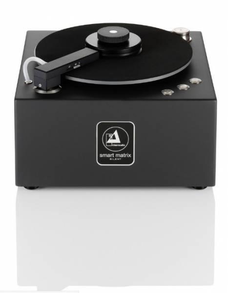 Clearaudio Smart Matrix SILENT Plattenwaschmaschine Bundle inkl. Haube u. 2 Reiniger