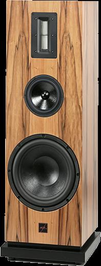 mfe Lautsprecher Secundo 3-Weg Bassreflex-System mit Bändchenhochtöner